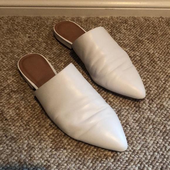 White Halogen Mules   Poshmark